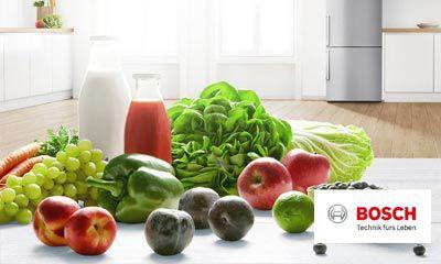 Bosch Kühlschrank Vitafresh : Bosch: vitafresh nofrost kühl gefrier kombinationen küche kaufen